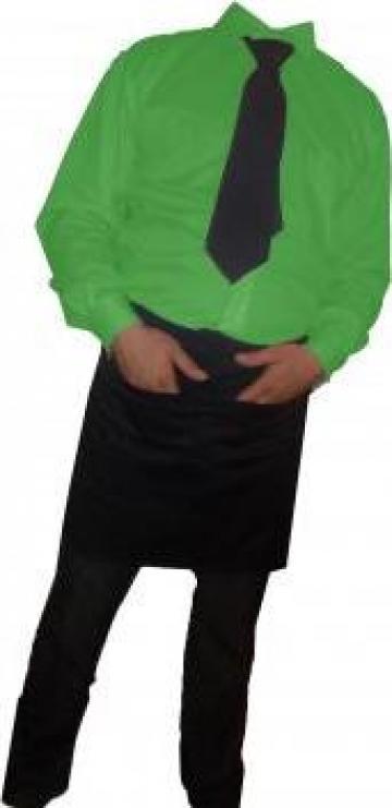 Camasa verde cu maneca lunga de la Johnny Srl.