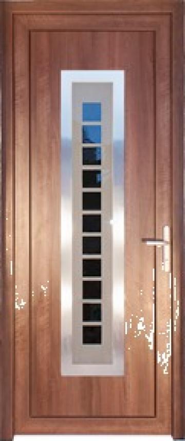 Usi PVC si aluminiu termopane de la Optimedia Mures