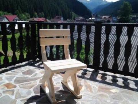 Scaun terasa din lemn de brad de la SC Lazar Mobila SRL