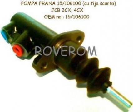 Pompa frana 15/106100 JCB 3CX, 3D, 4CX (cu tija scurta) de la Roverom Srl