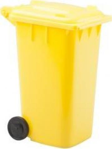 Suport pixuri in forma de pubela de gunoi
