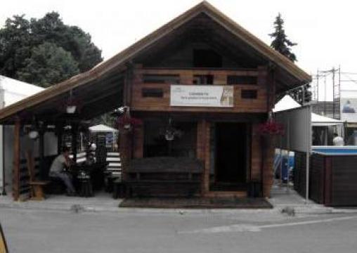 Cabana din lemn Expo de la I.i. Axane Dumitru