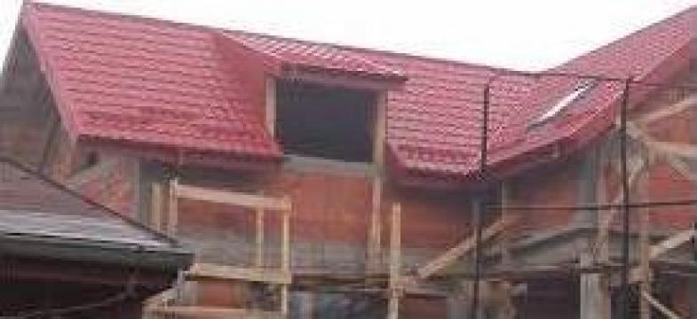 Montaj tabla, tigla metalica acoperisuri de la