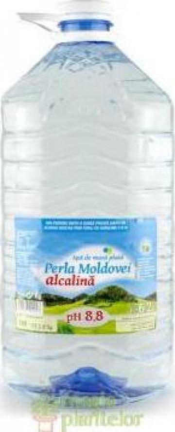 Apa natural alcalina 6.2 L PH 8.8 - Perla Moldovei de la Magia Plantelor Srl