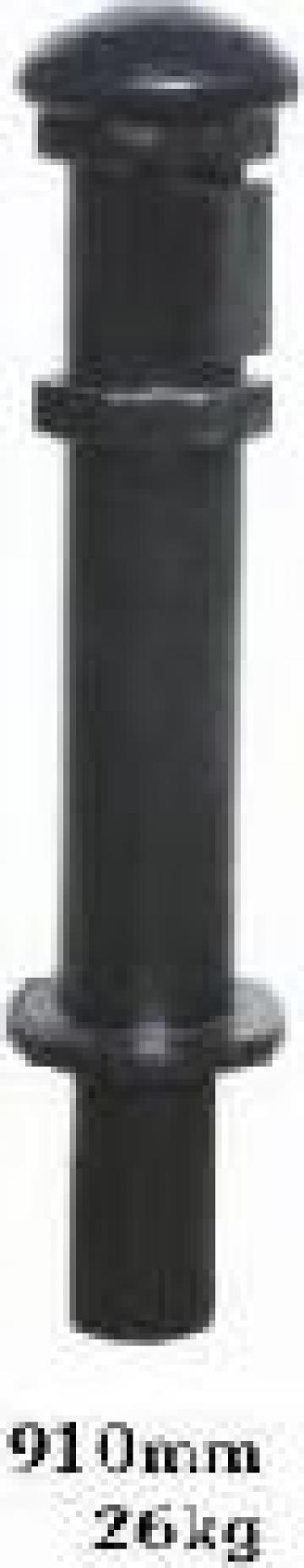 Stalp ornamental fonta restrictionare acces PLGFG3 de la Palagio System Group