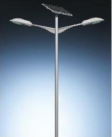 Stalp iluminat panou solar fotovoltaic PLG42W de la Palagio System Group