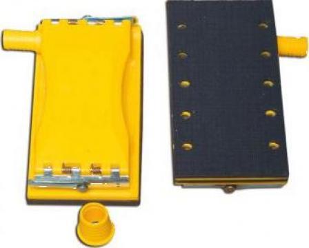 Bloc de slefuire din nylon 10 orificii, 105x215mm de la BilCar Kosmetik