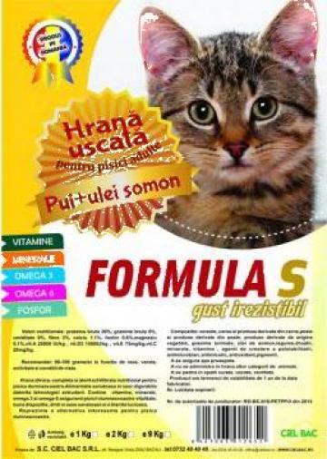 Hrana uscata pisici adulte Formula S