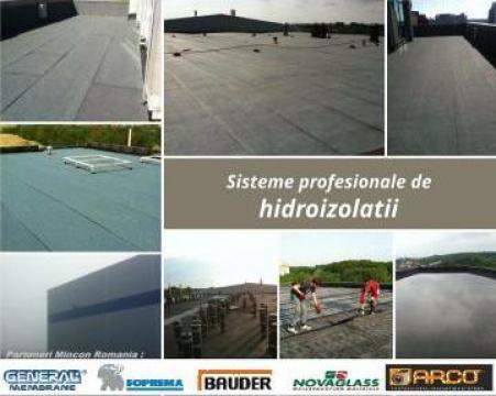 Hidroizolatii terase de la Mincon Romania Srl