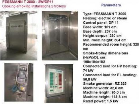Instalatie de fierbere si afumare Fessmann T 3000