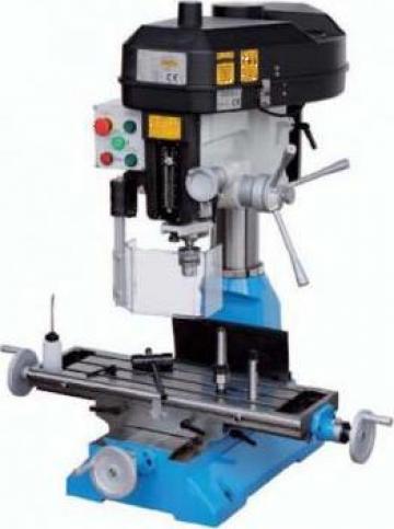 Masina de frezat si gaurit metale de banc T046 de la Gabcors Instruments Srl