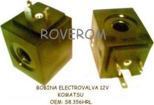 Bobina 12V, D12.7x38.5mm, electrovalva hidraulica de la Roverom Srl