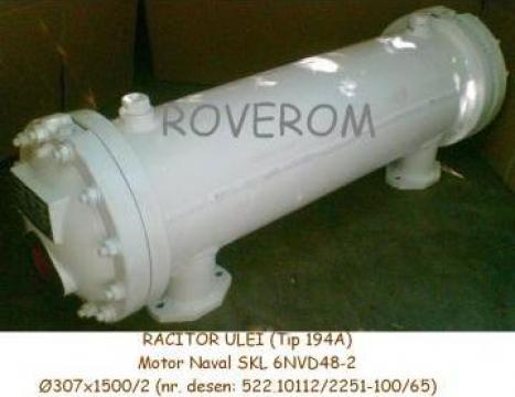 Racitor ulei (194A) Motor Naval SKL 6NVD48-2 de la Roverom Srl