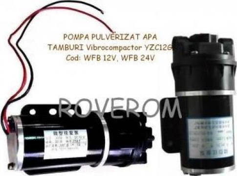 Pompa pulverizat apa tamburi vibrocompactor YZC12G de la Roverom Srl