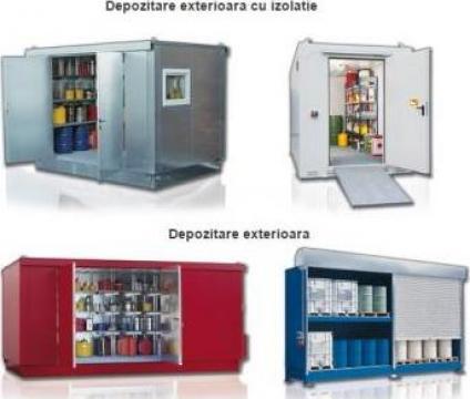 Container depozitare substante periculoase