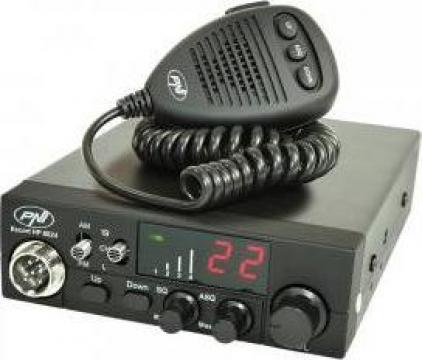 Statie radio CB PNI Escort HP 8024 ASQ alimentare 12-24Vcc