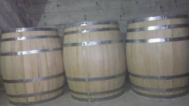 Butoaie din lemn stejar 400 litri de la PFA Tanase Victor