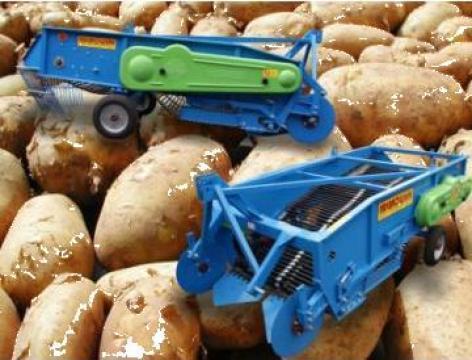 Masina de recoltat cartofi Z653 Pyrus 2 randuri