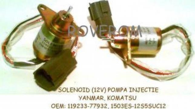 Solenoid (12v) pompa injectie Yanmar, Komatsu, John Deere
