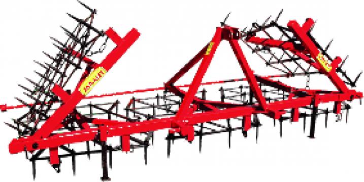 Grapa cu dinti - 3 rame asamblate manual P14 / U357