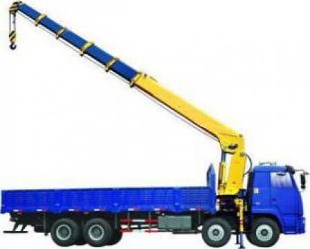 Inchiriere camion cu macara de la Veronmax