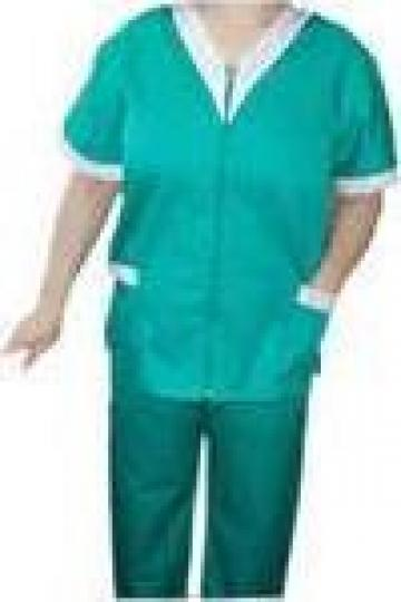 Uniforma de lucru medicala, verde de la Johnny Srl.