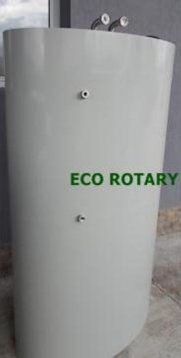 Boilere / puffere ovale 1500 litri cu o serpentina de la Eco Rotary SRL