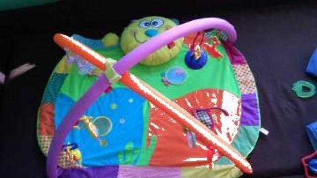 Balansoar si scaun masina bebe de la