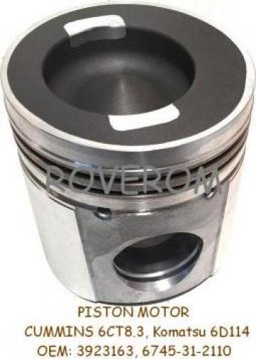 Piston motor Cummins 6CT8.3, Komatsu 6D114, Case, Hyundai