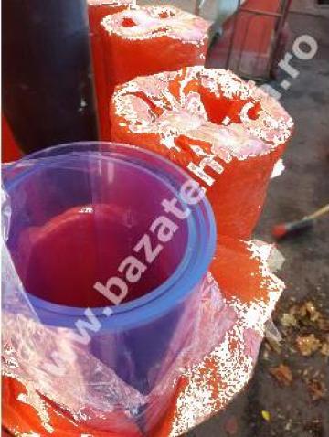 Placi transparente pentru usi batante din PVC 5x2100x2200 de la Baza Tehnica Alfa Srl