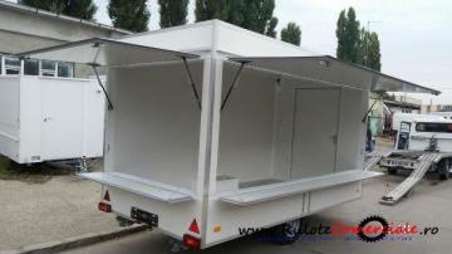 Rulota comerciala Premium VT 4130, 4x2x2.30 metri de la Avtoban Trailer Srl