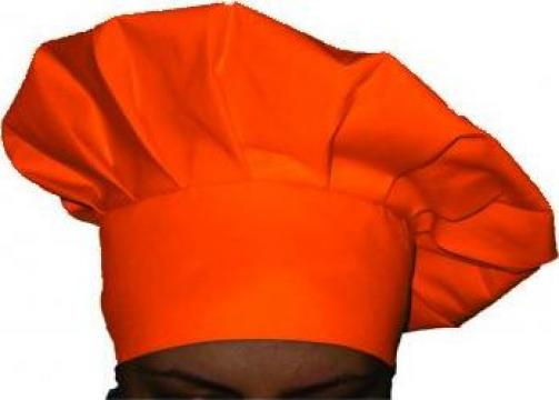 Boneta pentru bucatar portocalie