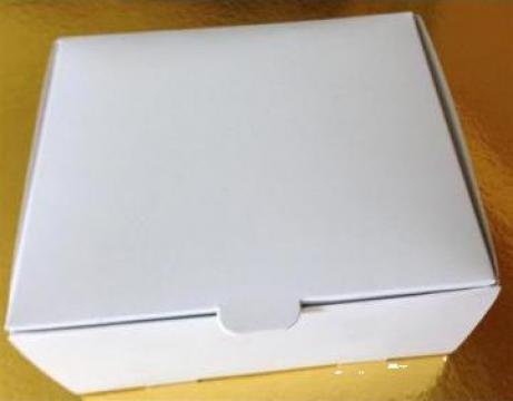 Cutii prajituri 13x13x6 cm
