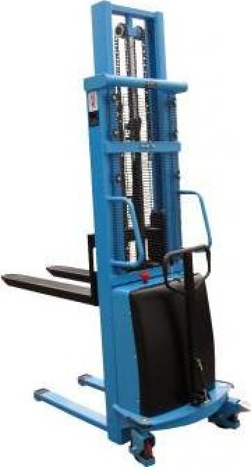 Stivuitor electric pietonal HaBa15HHE35, 1500kg, 3,5m