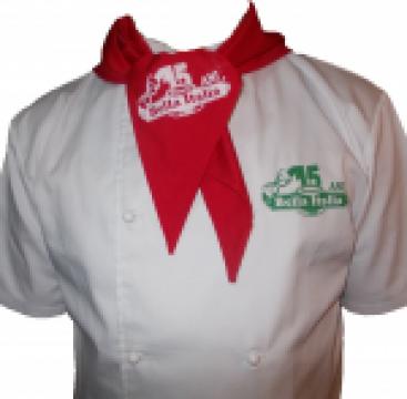 Costume bucatar chef albe de la Johnny Srl.