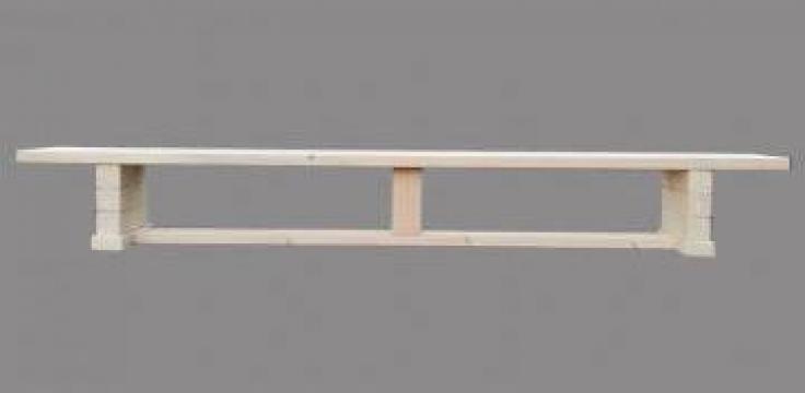 Banca gimnastica lemn 2,5 m de la SD Grup Art 2000 Srl