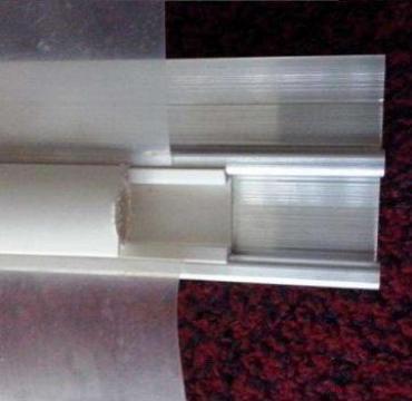 Profile aluminiu prindere folie solar