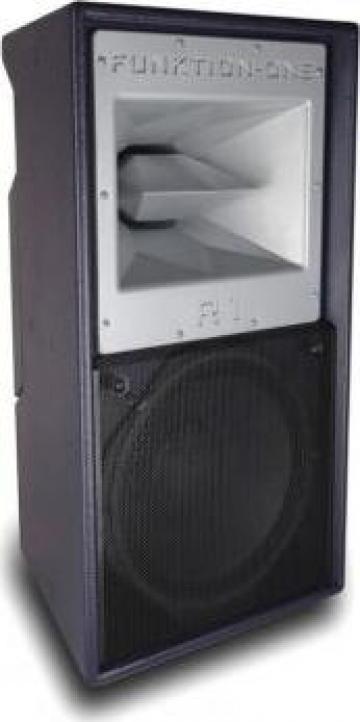 Boxa pasiva Resolution 1 Funktion-One de la Graffiti Pro Audio Srl