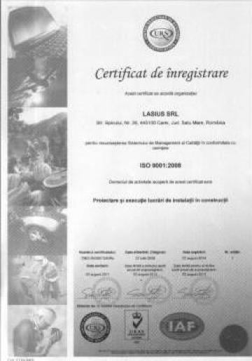 Autorizatii ISO