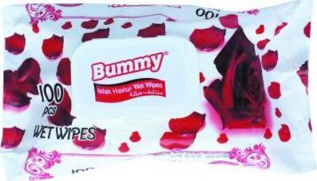 Servetele umede Bummy de la Newday Distribution Srl