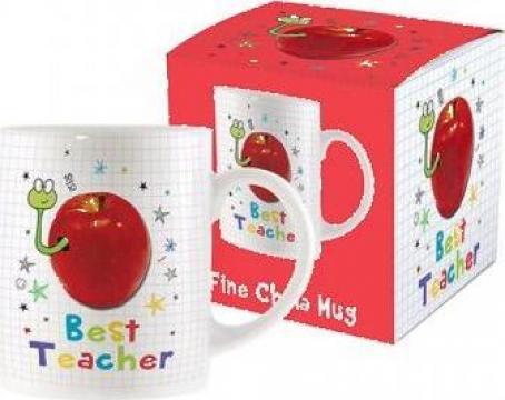 Cana Cea mai buna invatatoare sau profesoara DSM01782 de la Dream-store.ro
