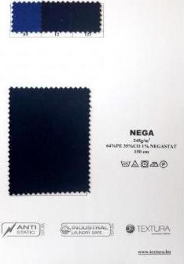 Tesatura tercot antistatic negastat 245 gr/mp de la Textura Ro Srl