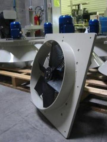Ventilatoare axiale industriale din mase plastice