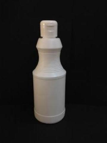 Flacon plastic alb 470 ml cu dop flip top de la Vanmar Impex Srl