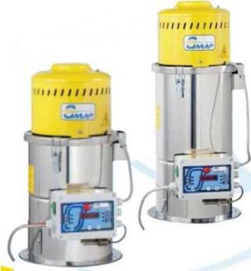 Alimentatoare / aspiratoare monofazice pentru granule de la Plastic Systems Srl