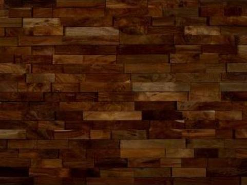 Tapet pentru pereti din lemn de teak Spey