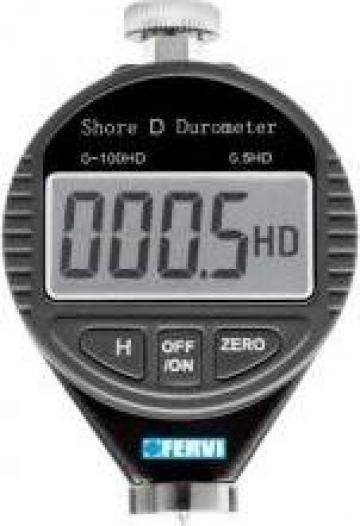 Durometru digital Shore D D011/D de la Gabcors Instruments Srl