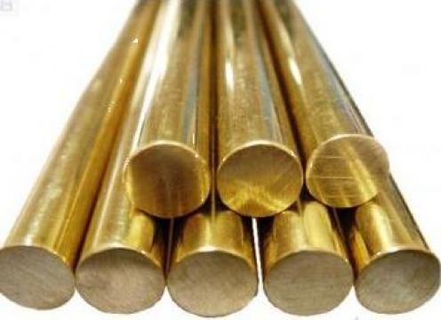 Bara bronz CuSn7 si CuSn12 de la Electrofrane