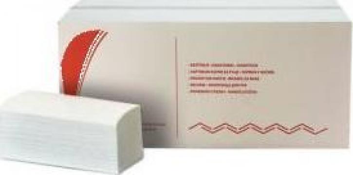 Prosoape pliate din hartie V Bokk, 2 straturi de la Best Distribution Srl