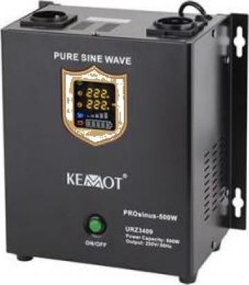 UPS centrale termice Sinus Pur 500w 12v Kemot de la Electro Supermax Srl